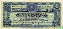 Mozambique 20 centavos 1933