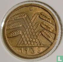 Duitse Rijk 5 reichspfennig 1935 (E)