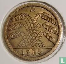 Duitse Rijk 5 reichspfennig 1935 (A)