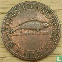 Magdalena-eilanden 1 penny 1815