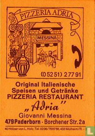 """Pozzeria Restaurant """"Adria"""" - Giovanni Messina"""