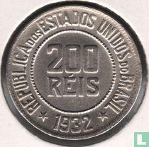 Brasilien 200 Reis 1932