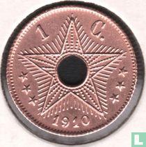 Belgian Congo 1 centime 1910
