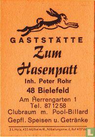Zum Hasenpatt - Peter Rohr