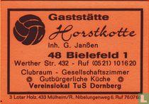 Gaststätte Horstkotte - G. Janssen