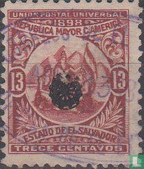 Unie van Midden-Amerika (Rozet)