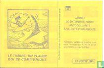 Carnet Marianne stempel, een plezier dat communiceert