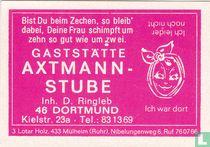 Gaststätte Axtmann Stube - D. Ringleb