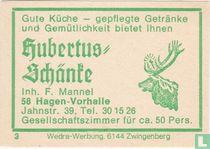 Hubertus Schänte - F. Mannel