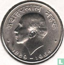 """India 50 paise 1964 (Bombay - Hindi legende) """"Death of Jawaharlal Nehru"""""""