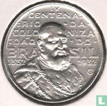 "Brazilien 2000 Reis 1932 ""400th Anniversary of Colonization"""