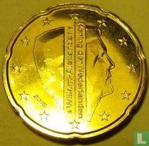 Netherlands 20 cent 2016