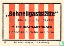 """""""Schnellgaststätte"""" - Udo Prang"""