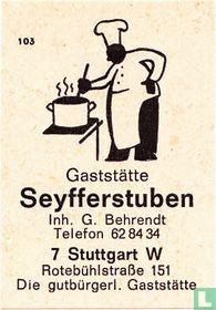 Seyfferstuben - G. Behrendt