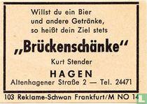 """Brückenschänke"" - Kurt Stender"