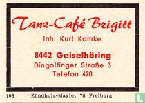 Tanz-Café Brigitt - Kurt Kamke