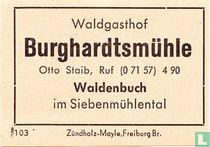 Burghardtsmühle - Otto Staib