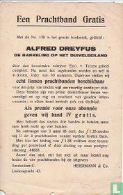 Een prachtband gratis - Alfred Dreyfus de banneling op het Duivelseiland