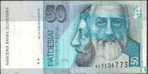 Slowakije 50 korun 2002