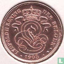 België 2 centimes 1905 (NLD)