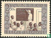 Schoolklas in Congo