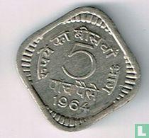 India 5 paise 1964 (Calcutta)
