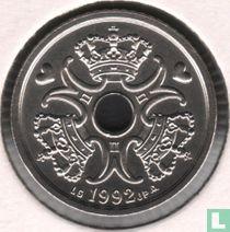 Denemarken 1 krone 1992