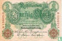 Reichsbanknote, 50 Mark 1906 (P26b)