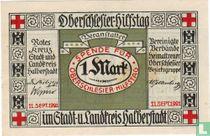 Halberstadt, Rotes Kreuz 1 Mark 1921