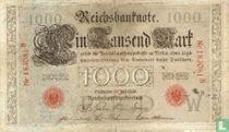 Reichsbank, 1000 Mark 1906