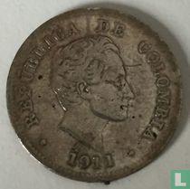 Colombia 10 centavos 1911