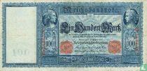 Reichsbanknote, 100 Mark 1909