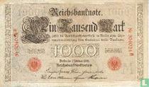 Reichsbank, 1000 Mark 1908