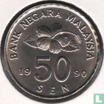 Maleisië 50 sen 1990