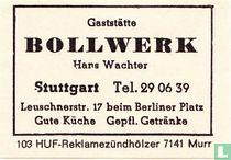 Gaststätte Bollwerk - Hans Wachter