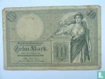 Reich Greenhouses Schein, 10 Mark 06.10.1906
