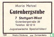 Gutenbergstube - Mario Hetzel