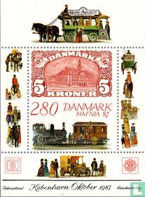 Postzegeltentoonstelling Hafnia 87