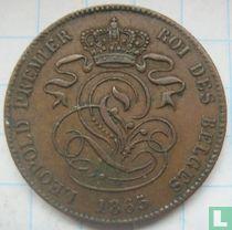 België 2 centimes 1865