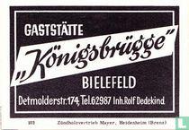 Gaststätte Köningsbrugge - Rolf Dedekind