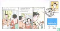 Strip 46 envelope: Harry Dickson