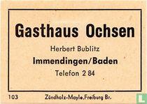 Gasthaus Ochsen - Herbert Bublitz