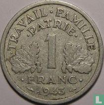 Frankreich 1 Franc 1943 (B)