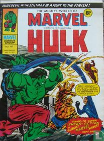 The Mighty World of Marvel 167