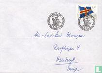 Åland-Flagge