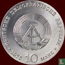 """DDR 10 mark 1975 """"100th anniversary Birth of Albert Schweitzer"""""""