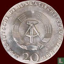 """DDR 20 mark 1967 """"200th anniversary Birth of Wilhelm von Humboldt"""""""