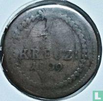 Baden ½ kreuzer 1809