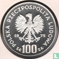 """Polen 100 zlotych 1975 (PROOF) """"Ignacy Jan Paderewski"""""""