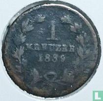 Baden 1 kreuzer 1839